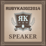 I was a speaker of RubyKaigi 2014